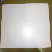Solvent backlit film for light box