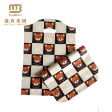 Factory Price Lovely Design Hot Selling Custom Shopping Plastic Bag with Teddy Bears Pattern