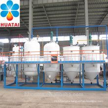mini cooking oil refinery machine, edible oil refining machine with 1TPD, 2TPD, 3TPD