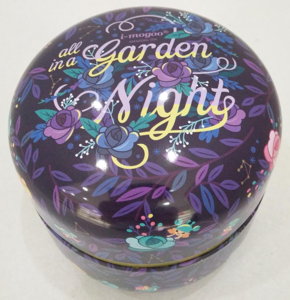Have Light Printing Round Tea Tin Box