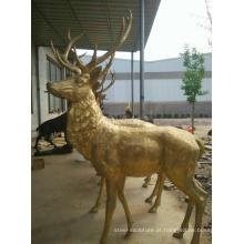 alibaba china bronze skulpturen estátuas de cervos do jardim para venda