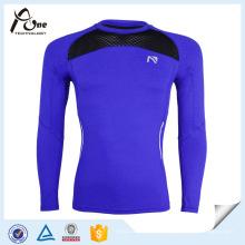 Jersey à compression haute tenue à compression à manches longues High Strech