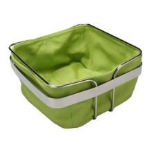Stainless Steel Canvas Bread Basket-Vegetable Rack