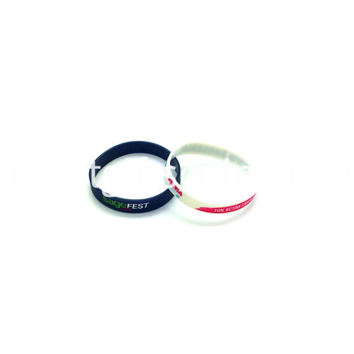 Promotional Debossed Color Infill Silicone Wristbands-180122mm2