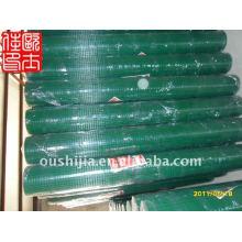 Treillis en fil soudé revêtu de vinyle et treillis métallique revêtu de 1/2 pouce