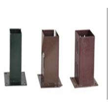 Caja de pilas HDG, caja de estacas, estaca revestida de energía, placa de polo