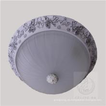 Nueva lámpara de techo de resina de diseño con sombra de vidrio (SL92679-3)