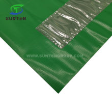 Green Traffic Road/Street Safety Warning Anti-UV/Waterproof PVC/Polyester/Nylon Printing Reflective/Fluorescent Color Square/Triangle Flag