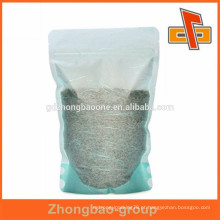 2015 tipo de venda quente de saco de papel saco de papel material de arroz para o pacote de ervas