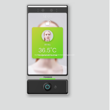 Сканер температуры распознавания лиц Living Face Turnstile Gate