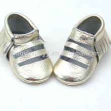 Nouveau design décontracté bébé chaussures enfant en bas âge cuir bébé chaussures adorables