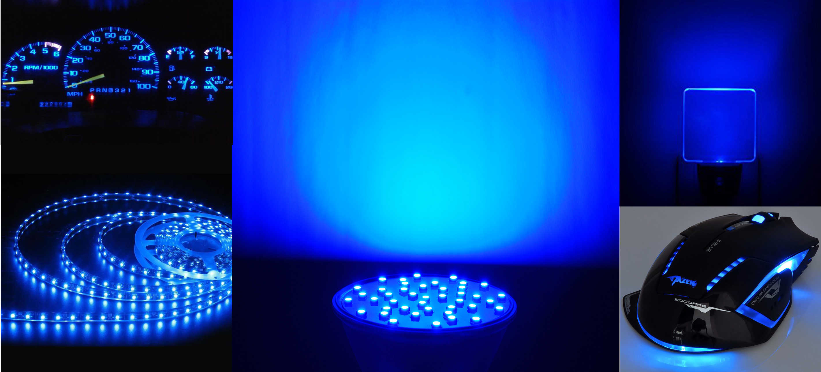 Application Blue LED