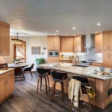 Stylish Lacquer Kitchen Cabinets