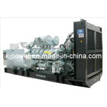 Génératrices électriques 1500kVA Powered by Perkins Diesel Engine
