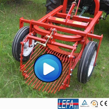 Mini cosechadora de papas combinada Ce Tractor Mouted
