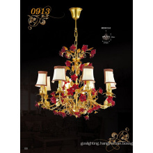 Hotel Lampshade Red Rose Chandelier Pendants (MD0913-8)