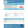 Hydraulic power pack for Semi electric forklift