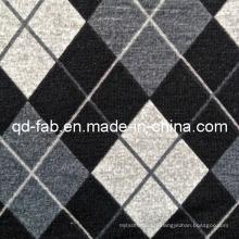 Tissu imprimé en tricot poly / rayonne / spandex (QF13-0698)