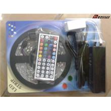 Full Set RGB 5m Flex LED Streifen und Controller Adapter LED Strip Kit