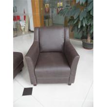 Living Room Sofa with Modern Genuine Leather Sofa Set (457)