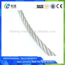 Cuerda de alambre de acero al carbono galvanizado Precio Cuerda de alambre