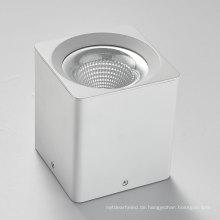 Dimmbares 10-40W oberflächenmontiertes COB-LED-Downlight