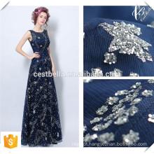 2016 New Design elegante vestido de noiva azul marinho formal New Hot Fashion Women Modern Lace Navy Blue Evening Gown