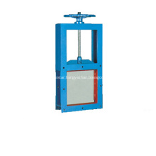 Square Guillotine Valve Slide Gate Valve