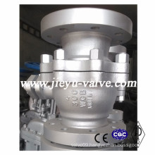 2 Pieces Cast Stainless Steel Oil Ball Valve