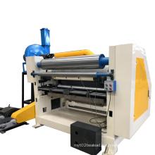 Corrugated adsorb type single facer/corrugated packing machine