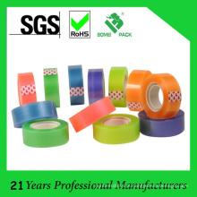 Fita adesiva dos artigos de papelaria pequenos do núcleo colorido