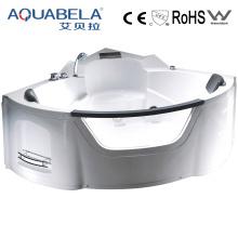 Luxury Acrylic Corner Whirlpool Jet Surf Bathtub (JL806)