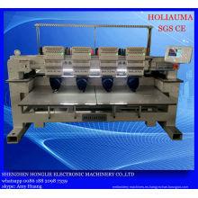 Máquina de bordar de computadora Industrial de cuatro cabezas para tapa 3D ropa Mulit función del bordado