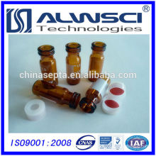 China manufacture snap vial 2ml glass vial autosampler vial for HPLC system