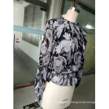 Fashion Loose Long Sleeve Latest Fairies Print Ladies Clothes