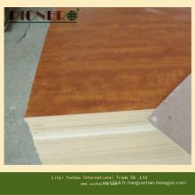 Contreplaqué de mélamine brun brillant pour meubles