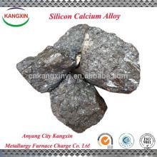 Silício ferro do cálcio do fabricante para a factura de aço, aço do silicone da vista