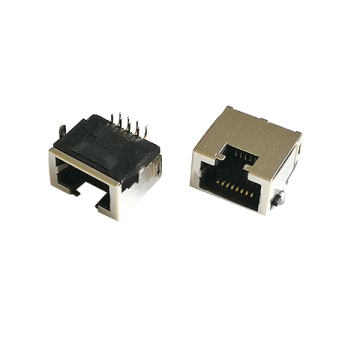 RJ45 8P8C Ultradunne spoelbak IN Type DIP H = 8.8MM