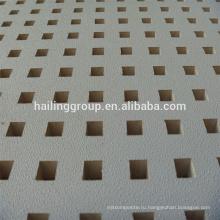 Высокое качество Белый Перфорированный гипсокартон с завода цена для горячая Распродажа