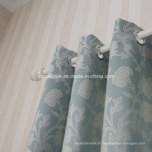 Broderie à motif de fleurs chaudes chinois comme rideau de fenêtre