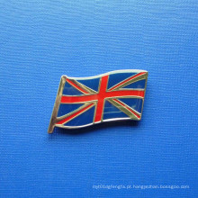 Pin da bandeira, organizacional feito sob encomenda Crachá Epoxy-Dripping (GZHY-LP-021)