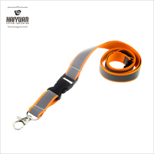Wholesale Cheap Blank Detached Reflective Lanyard