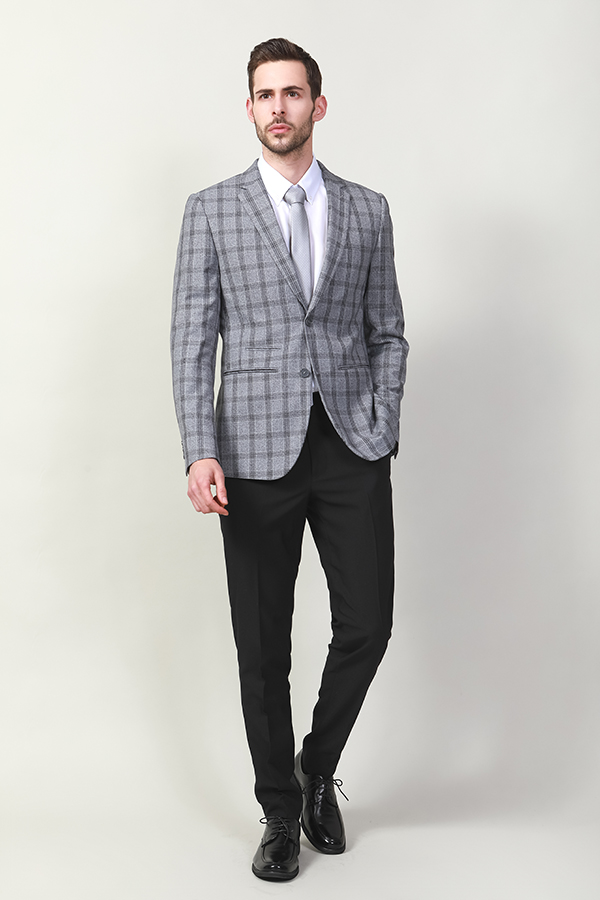 Men's woven fashion jacket