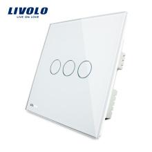 Livolo Новый тип домашней автоматизации сенсорный выключатель из закаленного стекла VL-C303I-61