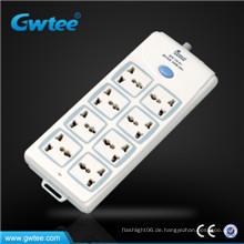 Made in china billiger 8-Wege-Universal-Schalter und Steckdose