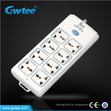 Made in china mais barato 8 way universal switch and socket