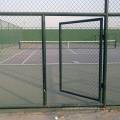 Clôture de maillon de chaîne / clôture de maillon de chaîne enduite de PVC / clôture de maillon de chaîne au sol de jeu