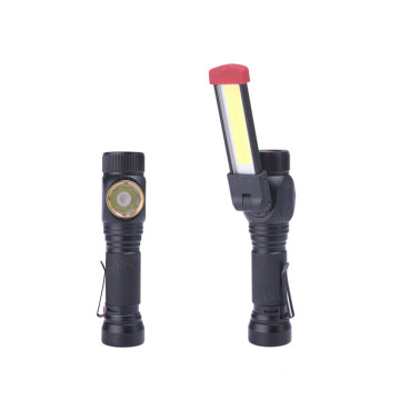 Luz de trabajo recargable COB T6 Led Inspection