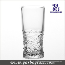 Gobelet en verre à motif gaufré de 12 oz (GB040111G)