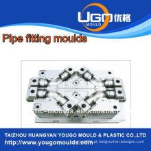 Fornecedor de moldes de plástico para acessórios de tubos de tamanho padrão em taizhou China